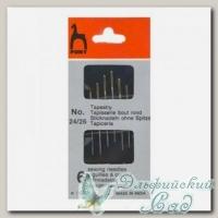 Иглы для вышивания гобеленовые Pony 5360 №24-26, 6 шт