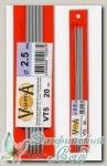 Чулочные спицы Visantia VT5 d=2,5 мм 20 см
