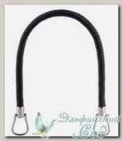 Ручки для сумок Zlatka HA-19 (цвет - черный) 2 шт