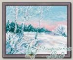 RIOLIS Набор для вышивания 1541 *Зимнее утро*