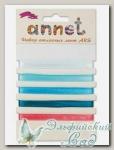 Набор атласных лент Annet ARS (цвет - 003 голубой)