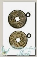 Подвеска *Монетка* Gamma MC-15 ст.бронза 1 шт