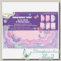 Набор бумаги для скрапбукинга *Лиловое облако №05* Mr.Painter DPP-A6, 18 листов