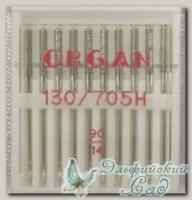 Иглы ORGAN для бытовых швейных машин - универсальные № 90, 10 шт