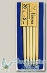 Чулочные спицы Гамма (Gamma) BC2 бамбуковые d=5 мм 20 см