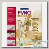 Поталь (металлическая фольга) FIMO (цвет - ракушка) 14x14 см 7 листов