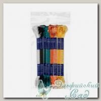 Набор мулине для вышивки VM-08 Gamma вискоза 8х8 м (№05 Расписная шкатулка)