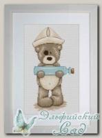 Luca-S Набор для вышивания *B1030 Медвежонок Бруно*
