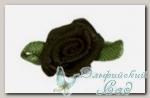 Декоративные элементы *Цветок* (черный) FL075 10 шт