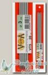 Чулочные спицы Visantia VT5 d=3 мм 20 см