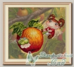 М.П.Студия Набор для вышивания РК-482 *Яблочная фея*