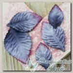 Листья бархатные (цвет - сталь) 532154 HEIRLOOM Prima Marketing, 24 шт
