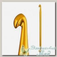 Тунисский крючок для вязания двухсторонний Гамма (Gamma) SH3 d=6 мм 14,5 см