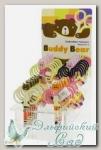 Ножницы для вышивания *Медведи* Hemline B4816.3 (с черными ручками)
