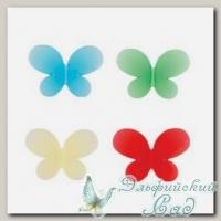 Декоративные элементы *Бабочки* Zlatka BFY-02 10 шт