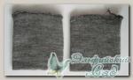 Манжеты трикотажные (серый) 8 х 10 см 2 шт