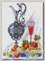 Канва с нанесенным рисунком *Молодое вино*, Матренин Посад 1610
