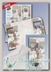 Набор для создания открытки с объемным рисунком *Снеговик и мальчик*, Reddy