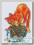 RTO Набор для вышивания C117 *Праздник для кота*