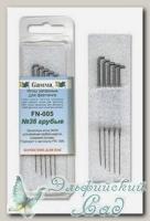 Игла для валяния (фелтинга) запасные GAMMA FN-005 (грубые №36) 5 шт