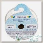 Кружевная лента 20 мм Gamma HVK-07 3 м