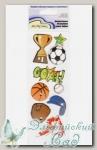 Декоративные 3D-наклейки QS Mr. Painter (20 Спортклуб)