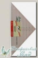 Линейка-треугольник 90 градусов Hemline NL4172 7 inch (18 см)