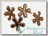 Клипсы (брадс) *Цветок медный* 7835524 Rayher, d=12 мм, 50 шт