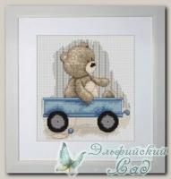 Luca-S Набор для вышивания B1082 *Медвежонок Бруно*