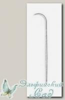 Иглы бисерные с широким ушком для спиннера Гамма (Gamma) NC-307 2 шт d=0.5 мм