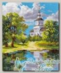 АЛИСА Набор для вышивания 3-11 *Храм у пруда*
