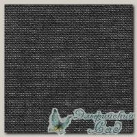 Ткань для вышивания Linda 27 сt. Gamma K27 (черная) 10 см