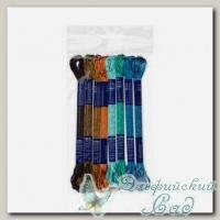 Набор мулине для вышивки VM-08 Gamma вискоза 8х8 м (№06 Марокканская мозаика)