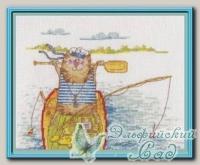 PANNA Набор для вышивания ВК-1032 *Удачная рыбалка*