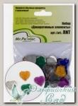 Декоративные элементы для скрапбукинга *Сердечки 04* Mr.Painter RNT-30