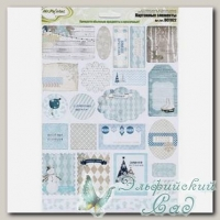 Картонные элементы *Зимушка - 1511* DCT022 Mr. Painter