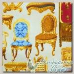 Ткани для пэчворка Swavelle Fabrics R22 G689-132W (фасовка), 55х55 см