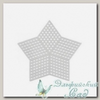 Пластиковая канва *Звезда малая* Gamma KPL-07 9х9 см