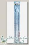 Лупа-линейка GAMMA SS-034 20 см