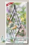 Набор для создания открытки с объемным рисунком *Бабочка и шиповник*, Reddy