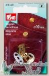 Магнитная застежка Prym 416481 (золото), d=19 мм