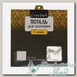Поталь (металлическая фольга) Love2art MLS-14 (цвет - серебро 03L) 14x14 см 5 листов