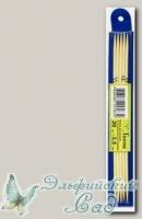 Чулочные спицы Гамма (Gamma) BC2 бамбуковые d=3,5 мм 20 см