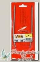 Спицы круговые для вязания Visantia VTC d=4 мм 100 см