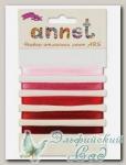 Набор атласных лент Annet ARS (цвет - 001 красный)