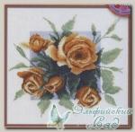 04.007.08 Набор для вышивания *Чайные розы*, Марья Искусница