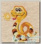 АЛИСА Набор для вышивания 0-96 *Добрая змейка*