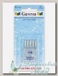 Иглы для швейных машин бытовых GAMMA NT №110 для трикотажа 5 шт
