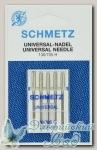 Иглы для бытовых швейных машин универсальные Schmetz № 120, 5 шт
