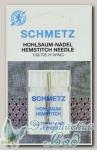 Иглы для бытовых швейных машин для мережки Schmetz № 120, 1 шт